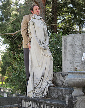 Sacramento Cemetery Statue