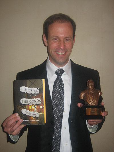Brad with Nero Award